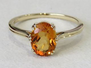 9k Yellow Gold 1.71ct Citrine Ring